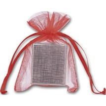 Red Organdy Bags - 36 count - $8.00+
