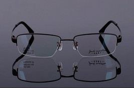 Mens 100% Pure Titanium Half Rimless Eyeglasses Frames Rx Spectacles Glasses image 7