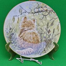 """1985 Royal Worcester (England) """"Birdwatcher"""" Kitten Classics Collector plate - $5.95"""