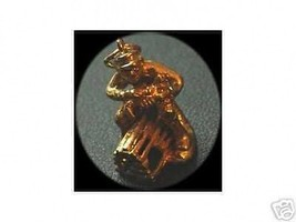 NICE Lobster Catcher 24kt Gold Plated Pendant Charm Jewelry - $21.36