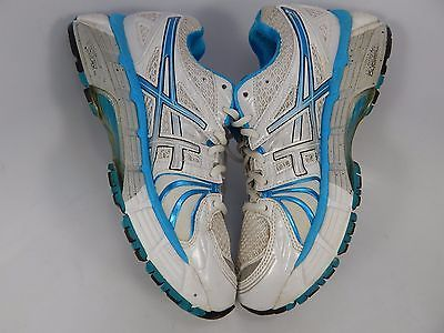 Asics Gel Kayano 18 Women's Running Shoes Size US 7 M (B) EU 38 White T250N