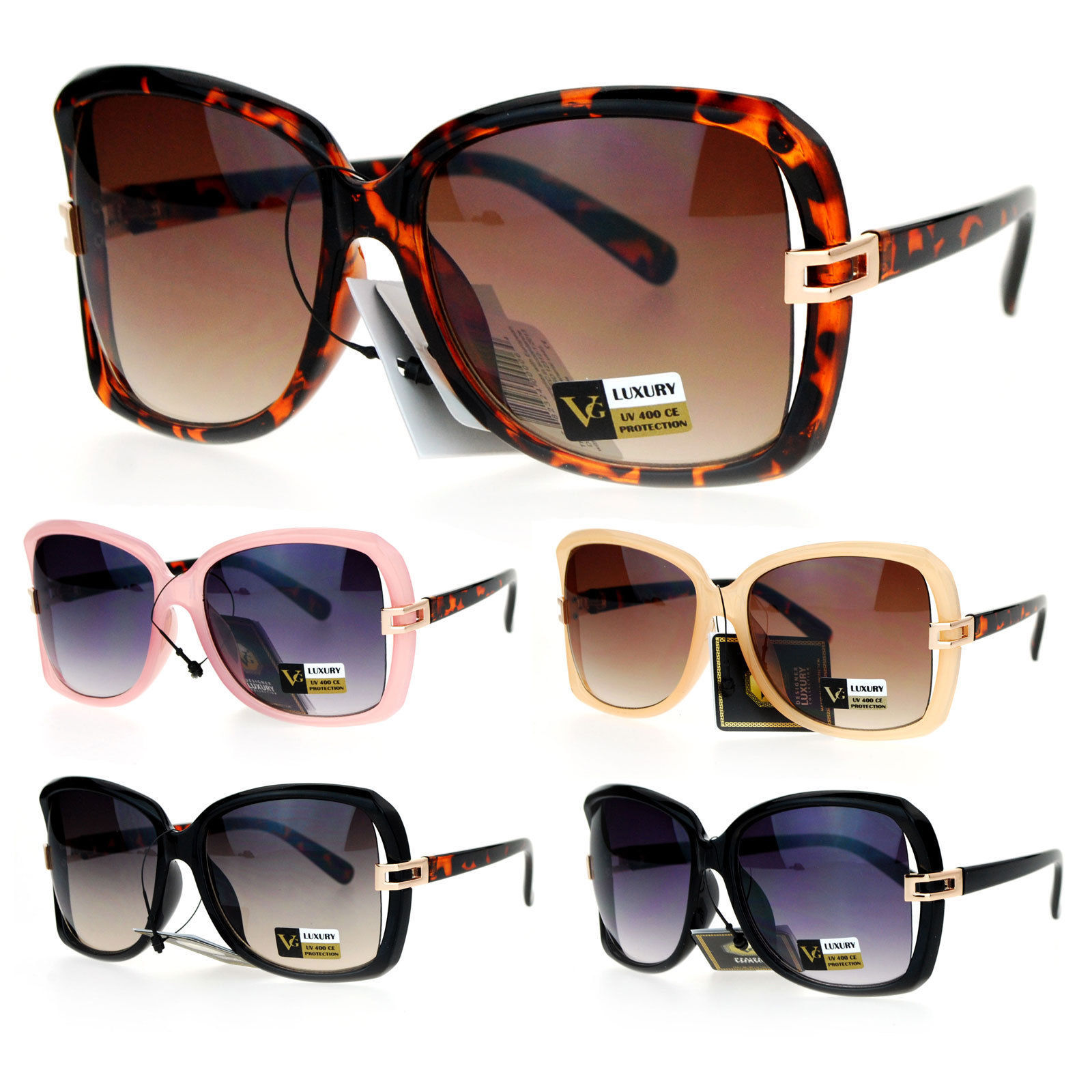 69a0b8782e1b VG Eyewear Womens Exposed Side Butterfly and similar items. S l1600
