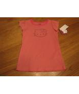 Girls Hello Kitty HK52568 ribbed pink t shirt 6 NWT ^^ - $14.42