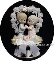 50 Anniversary Wedding Cake Topper Precious Moment 50th Figurine Ornament - $84.05