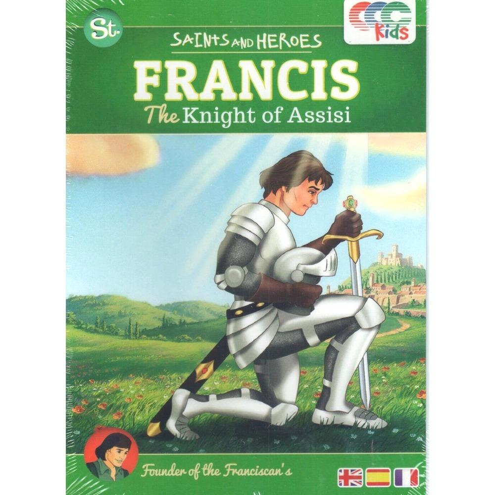 Francis the knight of assisi   dvd