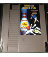Championship Bowling Nintendo Entertainment System 1989 Tested Works Great - $4.29