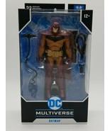 McFarlane DC Multiverse Batman White Knight RED Edition Figure Brand New... - $36.51