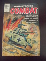 DELL Comics~Apr 1971~01-128-104~WAR-STORIES COMBAT~Behind Rommel's Line  - $13.95