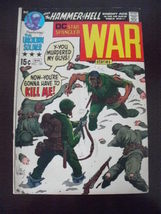 DC comic~Star Spangled WAR Stories~Mar 1971~No. 155~Joe Kuber cover  - $12.95