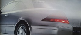 2001 Mercedes-Benz CL sales brochure catalog 500 600 US 01 HUGE - $15.00