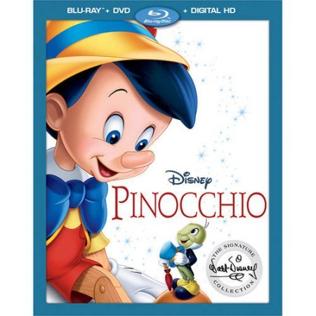 Pinocchio: The Walt Disney Signature Collection (Blu-ray + DVD + Digital)