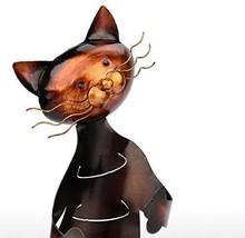 Tooarts Cat Shaped Wine Holder Wine Rack shelf Metal Sculpture Practical... - €29,57 EUR