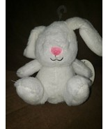 Carters Precious Firsts 63143 White Pink Nose Bunny Baby Plush Stuffed T... - $18.66