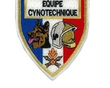 Ue french fire department k 9  tactical grey  large 4.25 x 4.5 in white felt 10.99 thumb155 crop