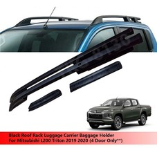 Silver Roof Rack Luggage Carrier Holder For Mitsubishi L200 Triton 2019 2020 - $249.33