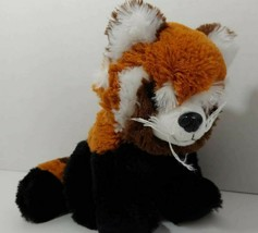 Red Panda Plush black orange brown striped tail ABC Bakers Girl Scouts s... - $6.23