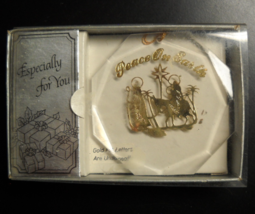 A&J Creations Christmas Ornament Peace On Earth Keepsake Personalize Boxed - $6.99