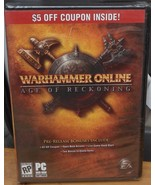 Warhammer Online - Age of Reckoning - BRAND NEW IN PACKAGE - RP - PC Sof... - $9.89