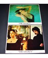 2 1978 Movie THE LEGACY 8x10 Lobby Cards  Katharine Ross, Sam Elliott - $19.95