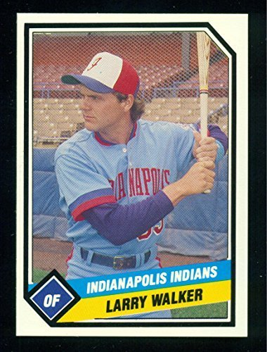 1989 Indianapolis Indians Complete 25 Card Set with Larry Walker and more - Base
