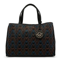 Womens Bag Versace Jeans - E1VRBBY2_70040 Tote Handbag Eco Leather Patte... - $167.90