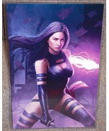 X-Men Psylocke Glossy Art Print 11 x 17 In Hard Plastic Sleeve - $24.99