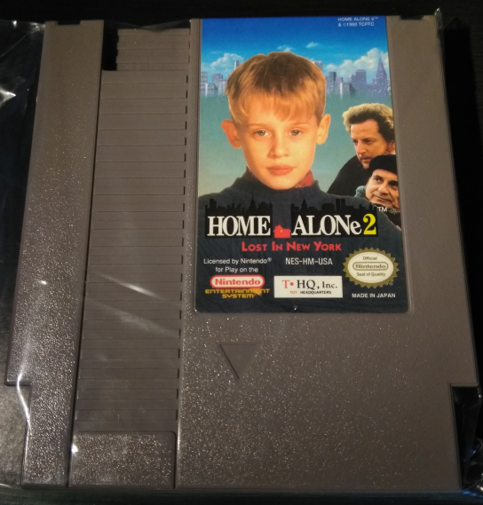 Home Alone 2: Lost in New York Nintendo NES 1992 Tested Works Great Mint