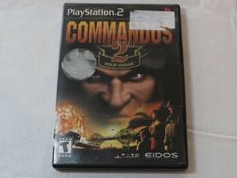 Commandos 2 Herren Von Mut PLAYSTATION 2 PS2 T-Teen 2002 Videospiel - $16.03