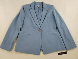 new Tahari women coat jacket blazer Arthur S Levine 15TSMS9WJ056452 blue... - $59.39