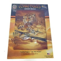 MasterPieces Flying Tigers On The Prowl 550 Pieces Puzzle NEW - $24.74
