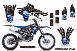 Dirt Bike Decal Graphic Kit MX Wrap For Yamaha YZ250F YZ450F 2014-2017 C... - $168.25