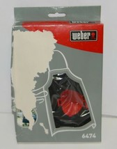 Weber 6474 Grilling Apron Cotton One Size Fits Most Color Black image 2