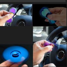 Cigarette Lighter USB Charging EDC Hand Spinner Fidget - One Item w/Random Color image 6