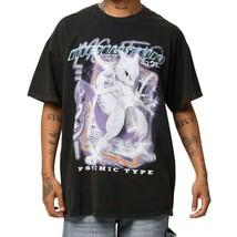 Goat Crew black Mewtwo vintage wash graphic short sleeve t-shirt medium ... - £25.30 GBP