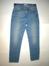 New NWT 28 Mens 48 IT Designer Acne Jeans Distressed Blue Crop High Wais... - $197.50