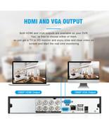 FLOUREON 8 CH House Security Servalance Cameras, DVR 1080N AHD + 4 - $197.99