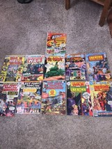 Marvel & DC Lot of 11 War Comic books Old G.I. Combat Sgt. Fury War is Hell - $56.09