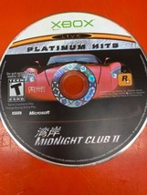 Midnight Club II 2 (Microsoft Xbox, 2003) Play Tested Disc Only - $4.94