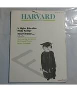 Harvard Magazine 1990 May Higher Education Failing Worm ate Internet S3 - $39.99