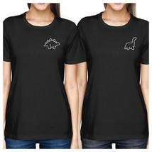 Dinosaurs BFF Matching Black Shirts - $30.99+