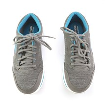 Skechers Go Walk Gray Blue Sneakers Walking Tennis Shoes Womens 11 SN 13651 - $29.52
