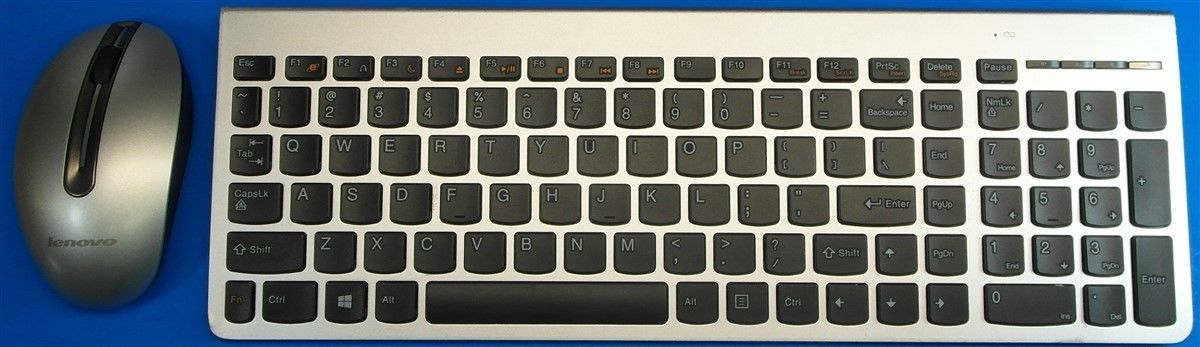 69e1d2af815 Lenovo Ultraslim PC Silver Wireless Keyboard and 44 similar items. S l1600