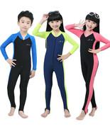Hot Summer Children's Piece Scuba Snorkeling Wetsuit Rash Guard Surfing ... - $21.97