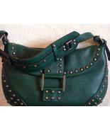 BCBG Max Azria Evergreen Pebble Leather Hobo $338 - $99.99