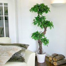 Stylish Artificial Plants and Trees, Premium Quality Faux Japanese Fruticosa ... - $138.59