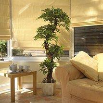 Artificial Plants and Trees, Premium Quality Faux Japanese Fruticosa Tree, Ha... - $138.59