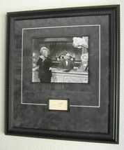 """W.C. FIELDS"" FRAMED & MATTED PHOTOGRAPH WITH AUTOGRAPH ON CARD - (sku#4... - $133.88"