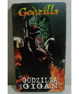VHS Tapes Godzilla vs Gigan - $3.00