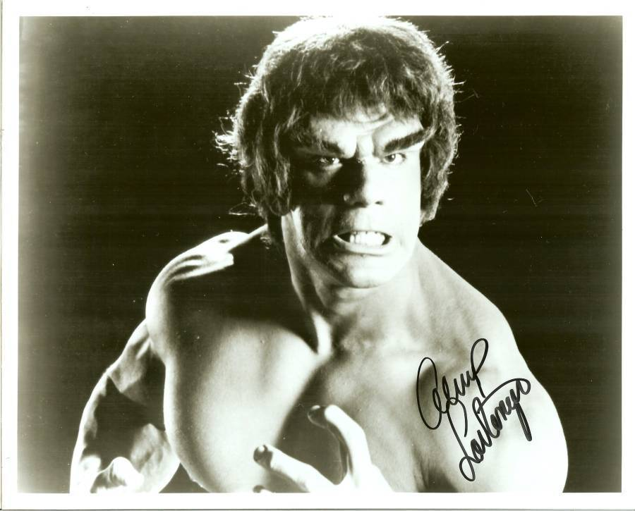 Primary image for lou ferrigno the hulk autograph movie star actor bodybuilder mr america