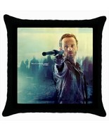 Throw pillow case cover walking dead zombies rick  - $19.50